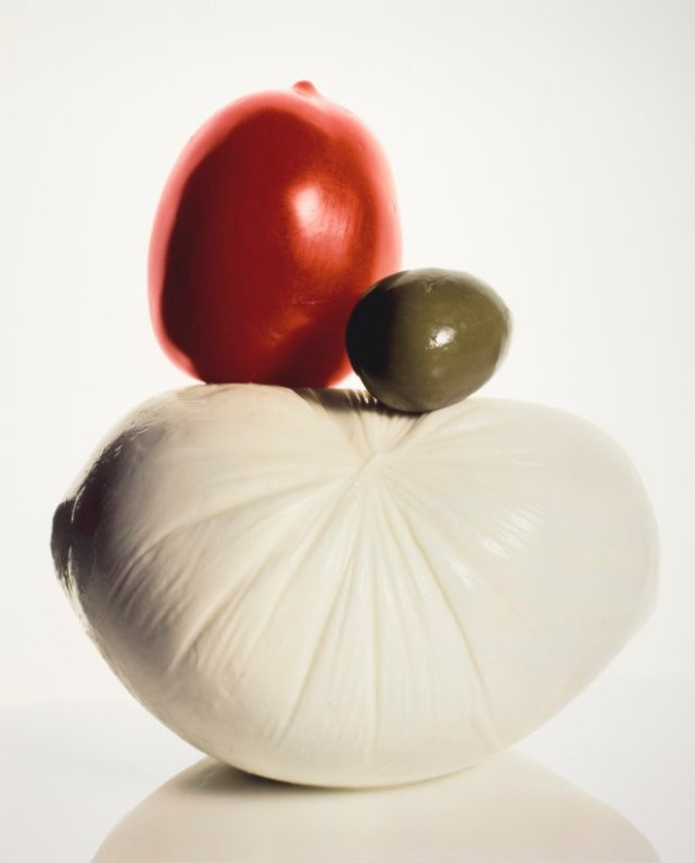 Irving Penn - Mozzarella