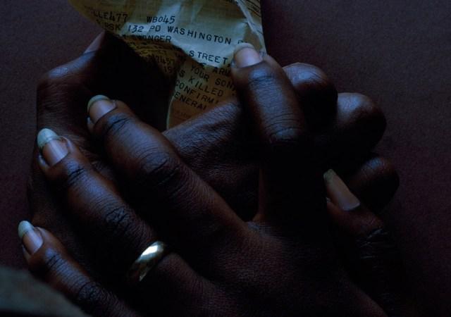 Art Kane 'Black Hands:Letter'