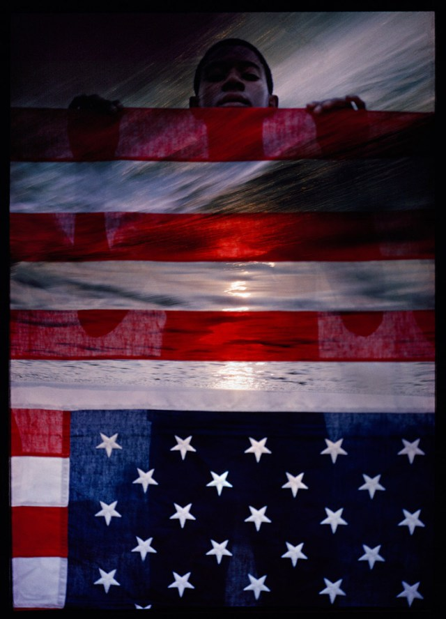 Art Kane 'Boy & Flag' 2