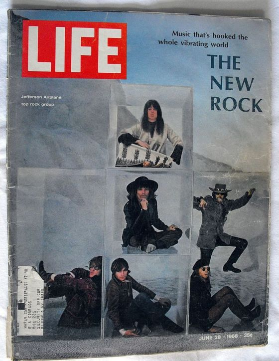 Art Kane 'The New Rock' Cover