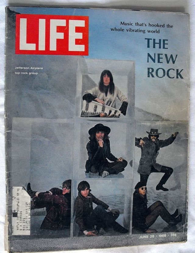 Art Kane 'The New Rock' Cover