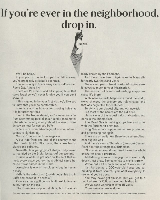 El Al 'Neighbourhood', Sid Myers, DDB NY-01