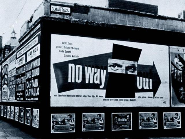 Paul Rand 'No Way Out' In Situ:Gerrard's Place