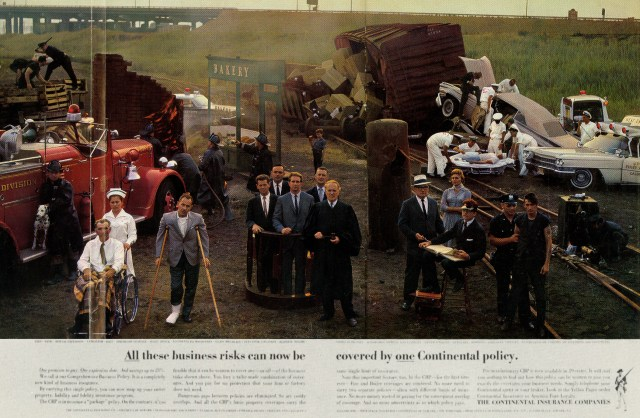 The Continental Insurance Co 'Crash', Sid Myers, DDB NY.