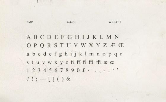 Hellmann's Alphabet