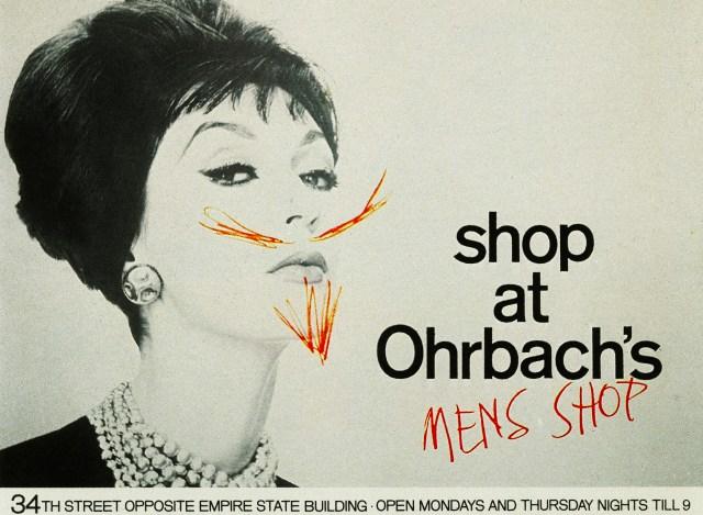 Ohrbach's 'Mens', Sid Myers, DDB NY-01
