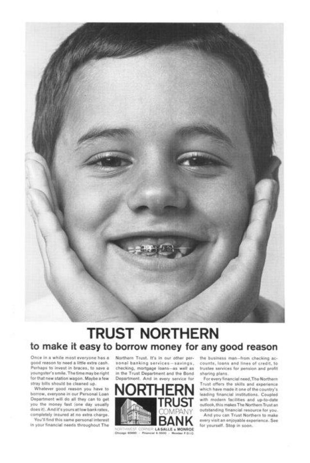 Joe Sedelmaier & Son 'Northern Trust