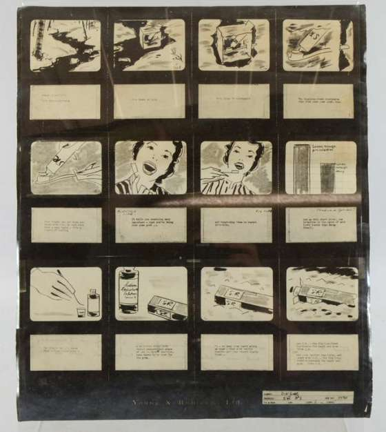Gibbs S R 'Iceblock story board', Y&R
