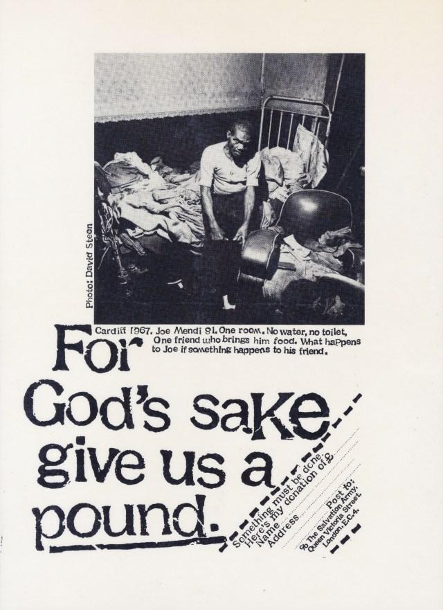 Salvation Army 'Pound', David Holmes, KMP-01