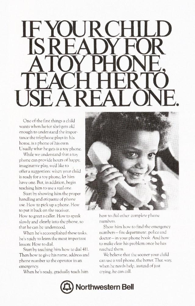 'If Your Child' Northwestern Bell, Tom McElligott, Ron Anderson, Bozell-01.jpg