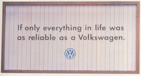1. 'Tr-Poster' Volkswagen, Tony Davidson, Kim Papworth, BMP-01