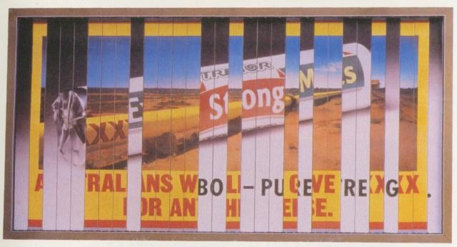 2. 'Tr-Poster' Volkswagen, Tony Davidson, Kim Papworth, BMP-01