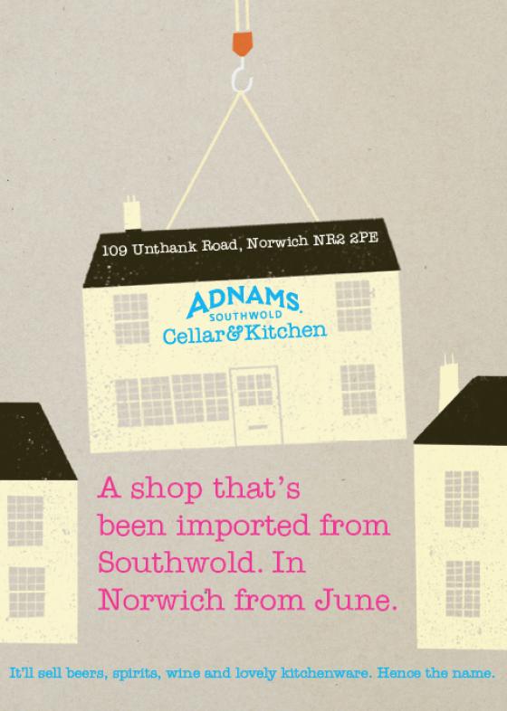 'A Shop That's' Cellar & Kitchen, Adnams
