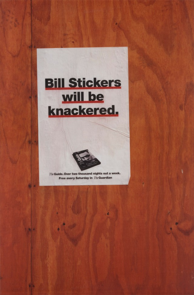 'Bill Stickers' The Guardian, Leagas Delaney.jpg