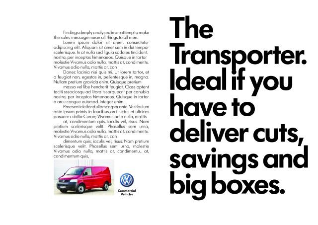 'Deliver big boxes', Volkswagen CV, DHM-01