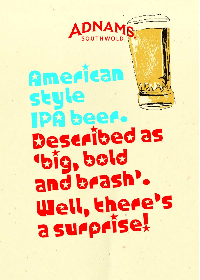 'Described By' American Style IPA, Adnams.jpg