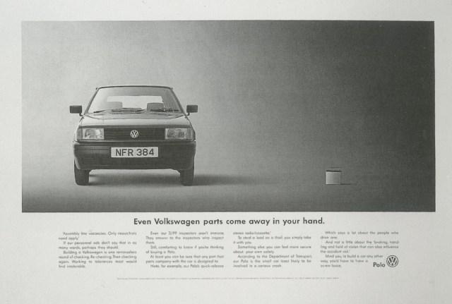 'Even' VW, Tony Davidson, BMP-01