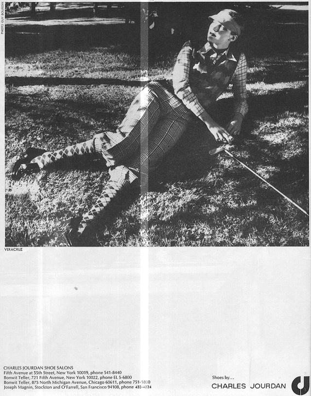 'Golf' Charles Jourdan, Guy Bourdain, Vogue Sept 1973.jpg