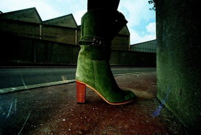 'Green Suede Boots' Charles Jourdan, Guy Bourdain.jpg