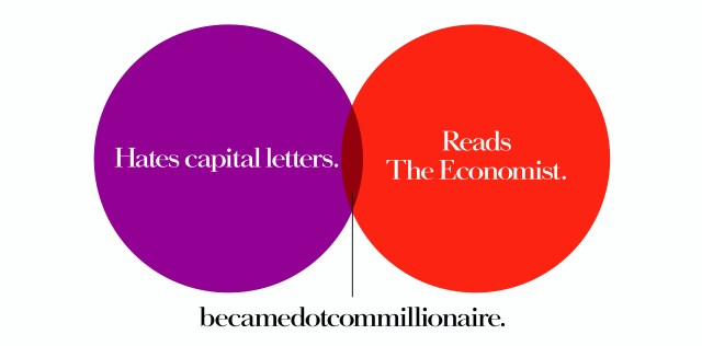 'Hates Capital' The Economist, Dave Dye, Venn, 48 sheet, AMV-BBDO