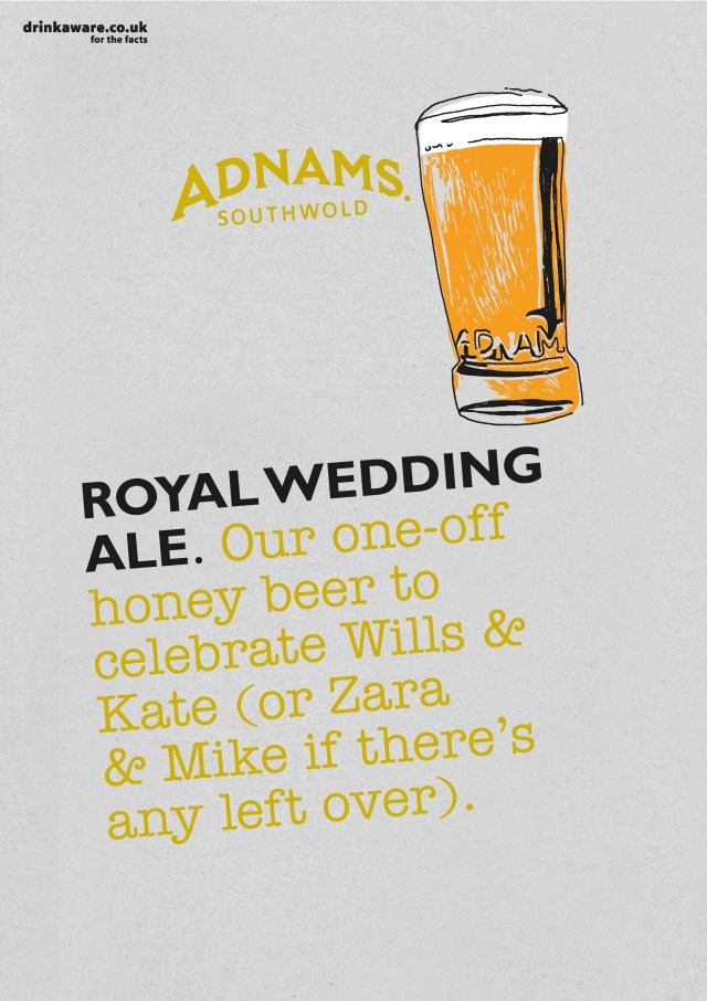 'Our One-Off' Royal Wedding Ale, Adnams.jpg