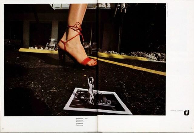 'Polaroid Cut Out' Charles Jourdan, Guy Bourdain.jpg