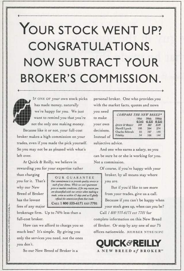'Your Stock Went' Quick & ReIlly, Kirshenbaum Bond.jpg
