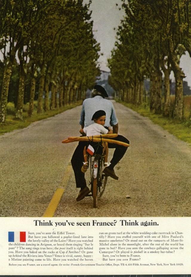 'Baguette', ' French Tourist Board, DDB NY, 1960's, Elliott Erwitt.jpg