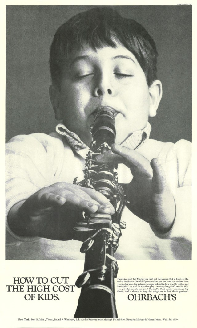 'Cello' Ohrbach's, Howard Zieff, DDB NY.jpg