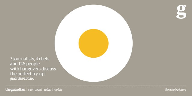 'Egg' The Guardian, Mark Reddy, BBH