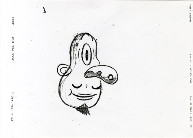 Gary Baseman, Merrydown, Year 1, Rough 4.jpg