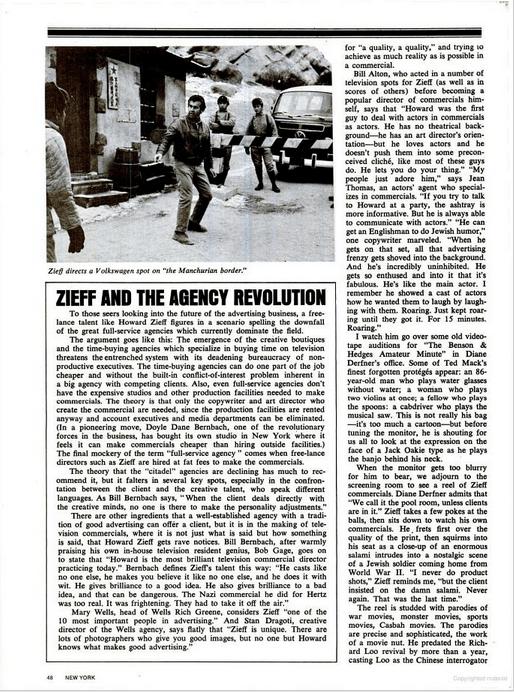 Howard Zieff, Life Article - 4.png