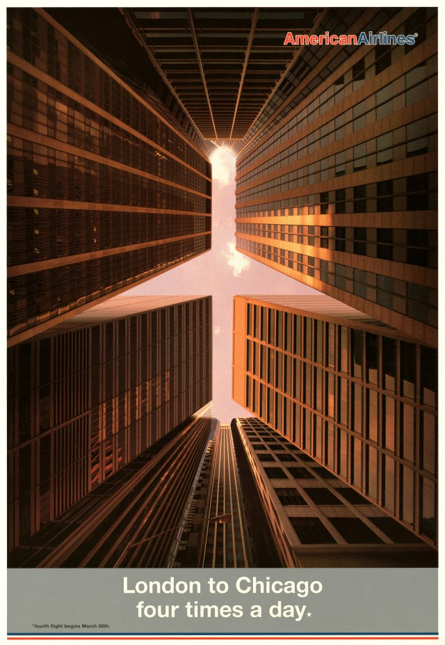 'London To Chicagor' American Airlines, Mark Reddy, BMP:DDB.jpg