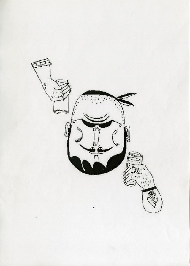 Olaf Hajek, Merrydown, Year 1, Rough.jpg