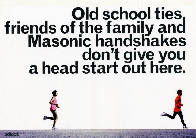 'Old School Ties' Adidas, Running, Rough, Leagas Delaney.jpg