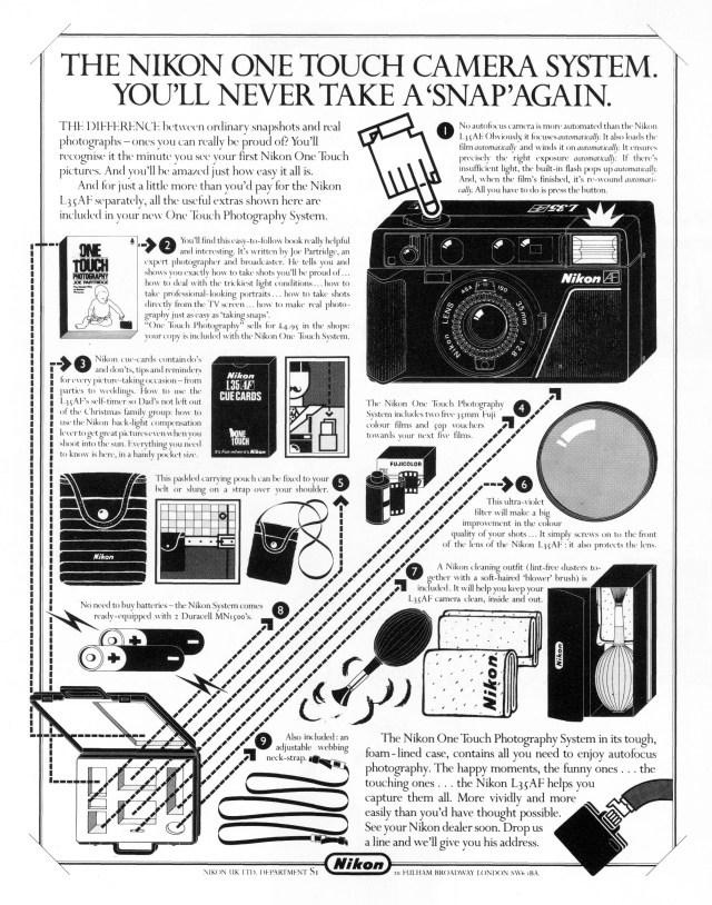 'The Nikon' Nikon, Mark Reddy, HKR