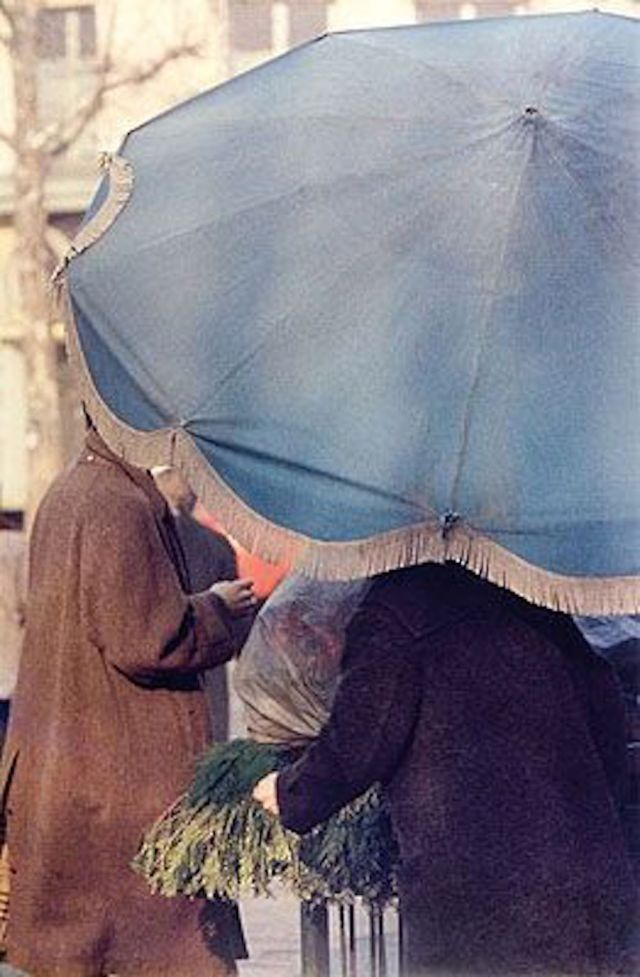 1. 'Blue Umbrella', Saul Leiter:Dave Dye*