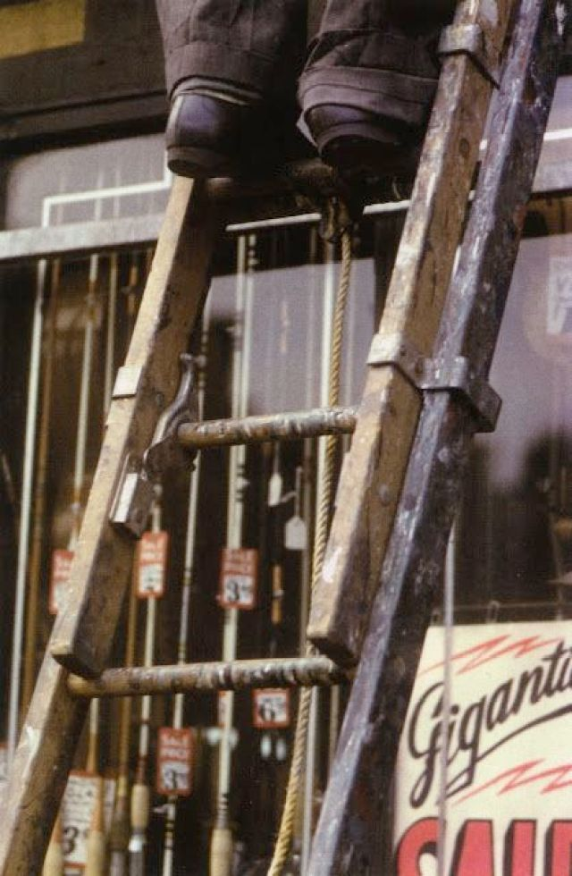 1. 'Ladder', Saul Leiter:Dave Dye