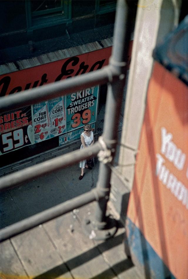 2. 'Skirt', Saul Leiter:Dave Dye