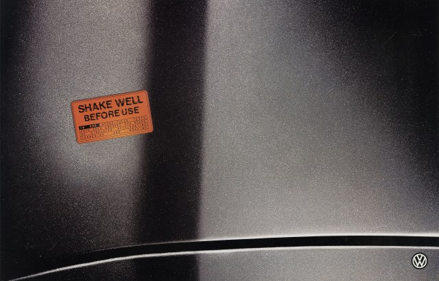 Volkswagen, Fleet Stickers, 'Shake Well', BMP-DDB-01.jpg
