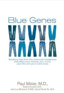 "Cover of ""Blue Genes"""