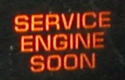 Check Engine light on a 1996 Dodge Caravan.