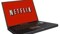 Netflix running on Laptop.