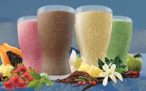 A picture from Shakeology's site portraying their drinks.