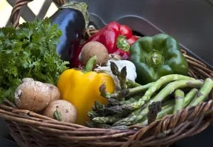 Many thanks to Liz West for publishing this image of a basket of food under the Creative Commons license.