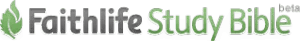 Faithlife Study Bible's Beta Logo.