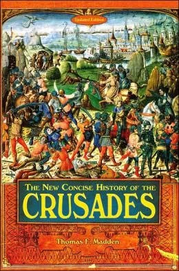 Book Cover for The New Concise History of the Crusades by Thomas F. Madden