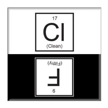 Chemistry Dishwasher Magnet