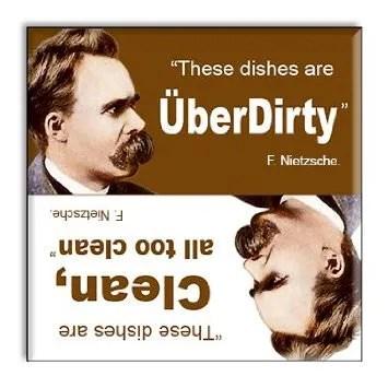 Uber Dirty Dishwasher Magnet