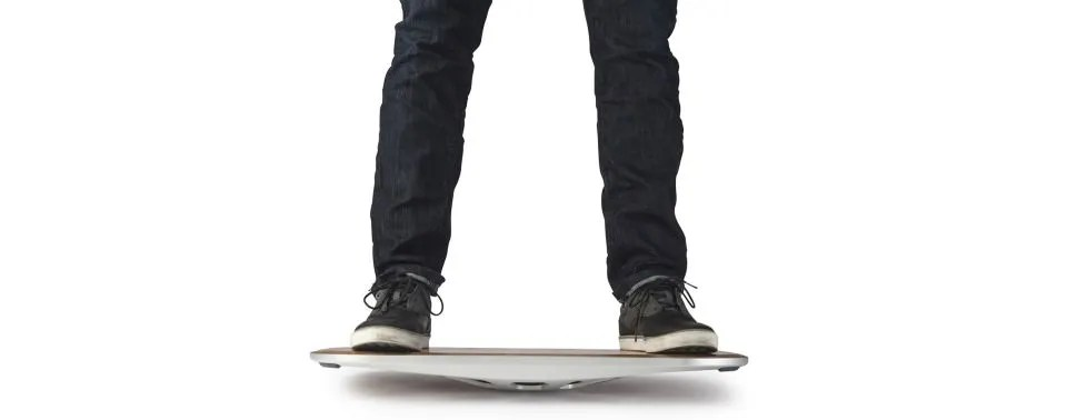 Photo of legs standing on Fluidstance The Level